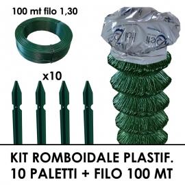 Ruota per Carriola in Plastica ad aria