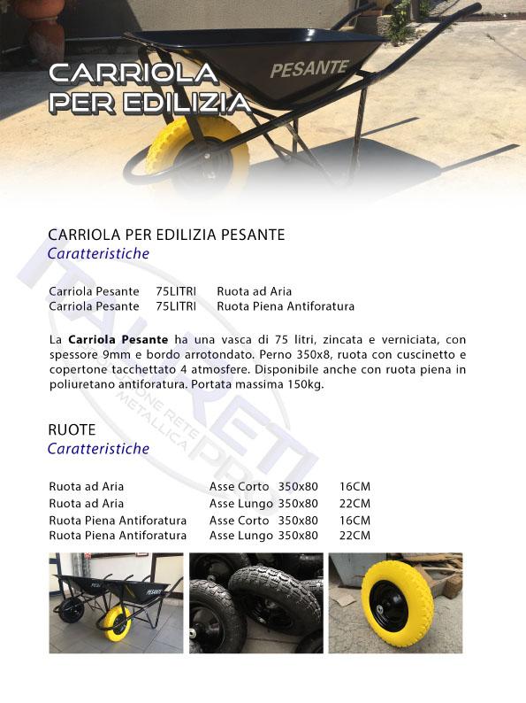 Carriola Pesante Muratore