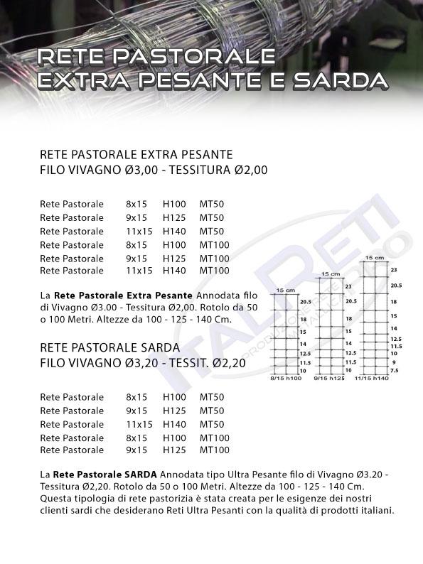 Rete Pastorale Pastorizia Extra Pesante